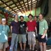 shrine builders: Gene, Taylor, Dave, Justin, Dave, and Lloyd